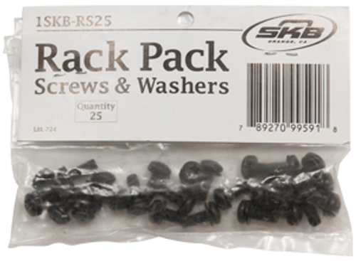 Rack Screws and Washers 25 Pack