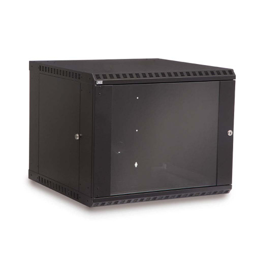 9u Wall Mount Enclosure Glass Door 3140-3-001-09