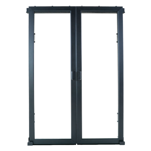 AisleLok 42U to 45U 6ft Sliding Doors Black 10155-650