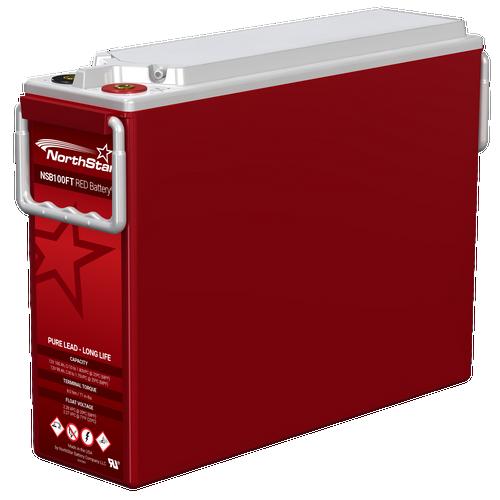 NSB 100FT NorthStar Red Telecom Battery