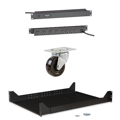 Rackmount Solutions RACKPACK-L   4-Post Rack Shelves