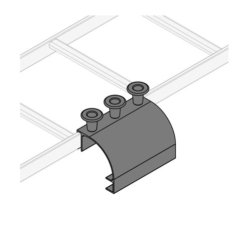 Middle Atlantic CLH-SD8 | Junction & Splice Hardware