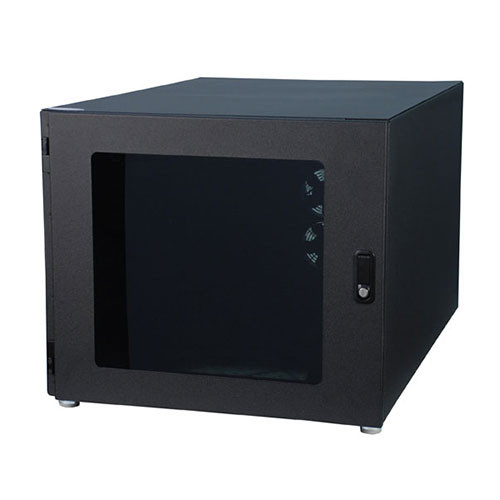 12u AcoustiQuiet Noise Cancelling Desktop Server Rack