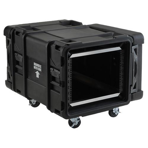 "SKB 3skb-R908U28 | 8U 28""D Roto Shockmount Rack Case SKB"