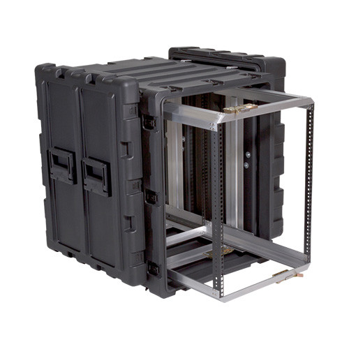 SKB 3RR-14U24-25B | 14U Case With Slide Out Rack