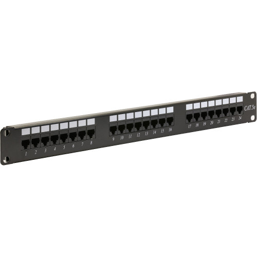 Rackmount Solutions RS-UP24-811A | CAT5E Patch Panels