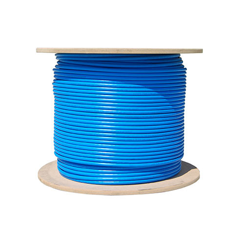 1000ft Cat6 23AWG 550MHz 8C Solid Cables Blue