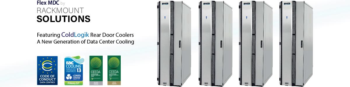Rear Door Server Rack Cooling