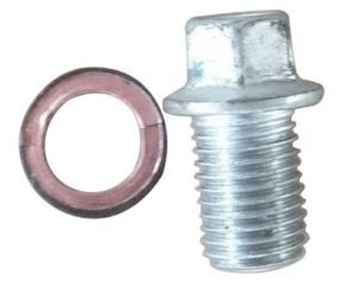 Oil Fill Plug and Gasket for 420cc snow blower engine - Models: 30SB, 30SS, 36SB, 36SS, 45SB, 45SS