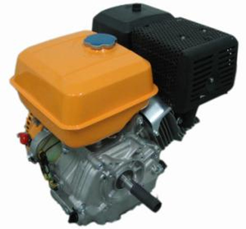 Engine Assembly  - recoil start.  (Yellow), 420cc, 15hp.  DEK chipper shredder model CH1 and Pressure Washer Model 3600. The engine assembly comes completely assembled with all the major components - crankshaft, piston, speed governor, flywheel, fuel