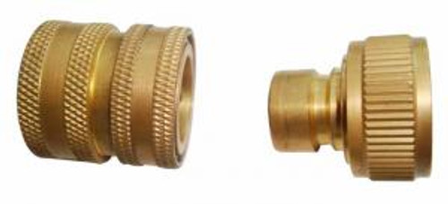 Brass quick connect coupling & Inlet Adapter-  P1450S (P1450S-CAN) and P1750S (P1750S-CAN), P1600S (P1600S-CAN),P1600S-BB, P1800S (P1800S-CAN), P1800S-BB