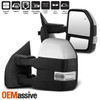 Fits 2015-2018 Ford F-150 Pickup Power Heated Mirrors w/ Puddle LED Signal LH+RH