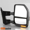 For 08-16 Ford SuperDuty POWER Heated Adjust CHROME G5 Mirrors LED Signal Smoked