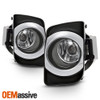 Fits 2010-2011 Toyota Camry Hybird Only Chrome Fog Lights Complete Replacement