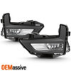 Fits 2017-2019 Nissan Rogue Driver+Passenger Side Bumper Fog Light Pair w/Switch
