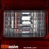 For 14-18 Silverado 1500/2500HD Sierra 3500HD Dually Red Smoked Tail Lights Pair