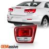 For 13-15 Chevy Malibu LS/ LT/ Eco [Non-LED] Red Tail Light Inner Passenger 1Pc