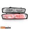 For 2016-2018 Chevy Camaro LED Tube Chrome Tail Lights w/ LED Sequential Signal