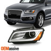 For 2013-2017 Audi Q5 OE Projector DRL Headlights Driver Left Side [HID AFS]