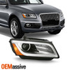 For 2013-2017 Audi Q5 OE Projector DRL Headlights Right Passenger Side [HID AFS]