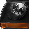 Fits 07-12 Santa Fe Headlights Driver Left+Passenger Right Replacement 2007-2012