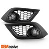 For 16 17 18 Corolla iM / Scion iM Clear Front Bumper Fog Lights w/Switch Bulbs