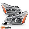 Fits 2008-2011 Ford Focus OE Headlights Pair Replacement Left + Right