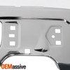 For 2009-2014 Ford F150 Truck Chrome Steel Front Bumper Face Bar w/ Fog Lights