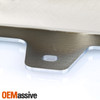 For 2014-2015 Chevy Silverado 1500 Chrome Panel Front Bumpewr Skid Plate w/o Z71