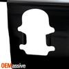 Fits 2015-2019 Chevy Colorado & GMC Canyon OE Black Rear Bumper Face Bar