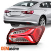 Fits 2019-2021 Chevy Malibu OE Style LED Tail Light - Outer Paasenger Side