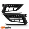 For 2019-2021 Honda Insight OE LED Fog Lights w/ Bezel & Switch - Pair Housing