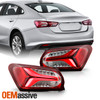Fits 2019-2021 Chevy Malibu OE Style LED Tail Light - Pair Outer Housing