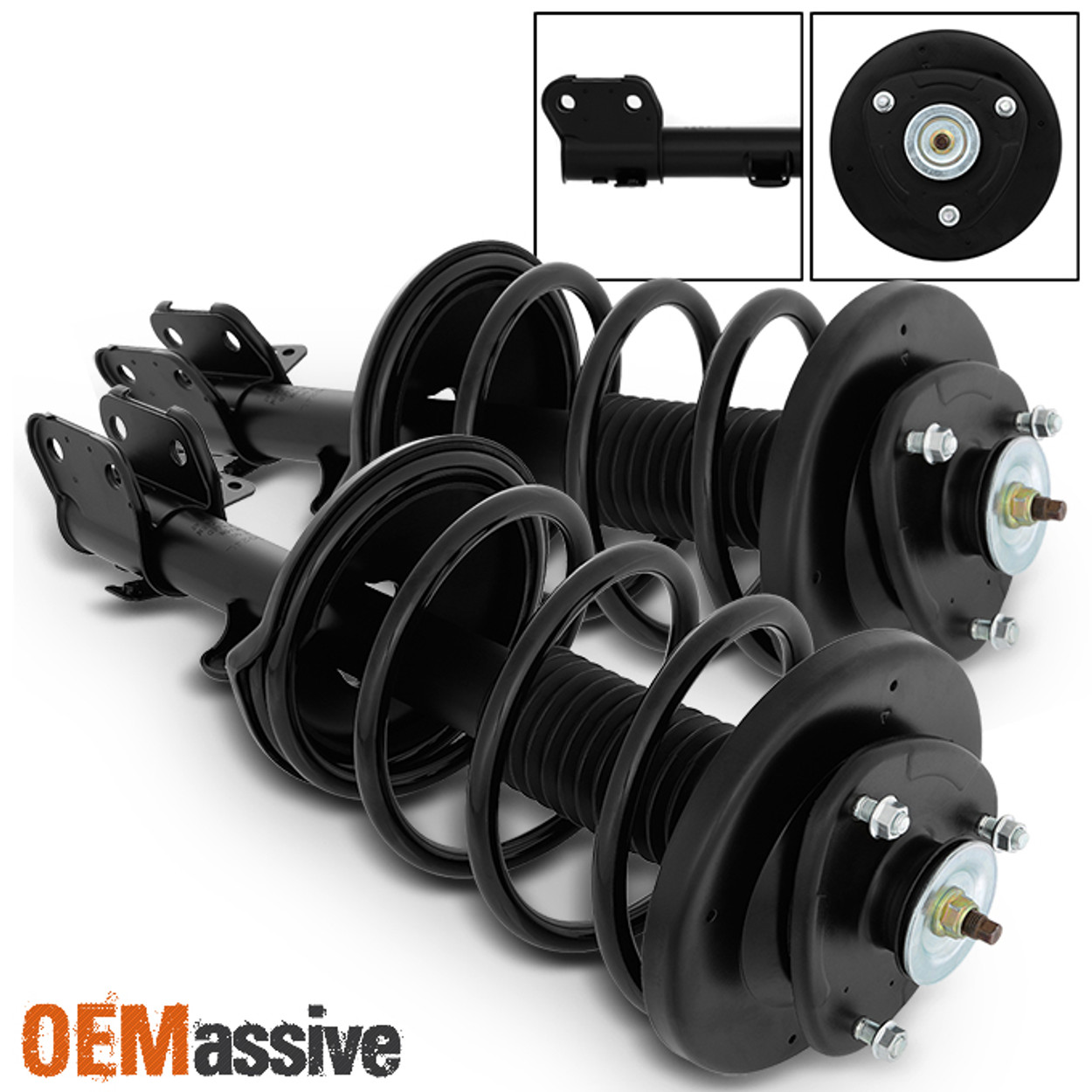 Front Right Complete Strut /& Coil Spring Assembly for 1999-2004 Honda Odyssey