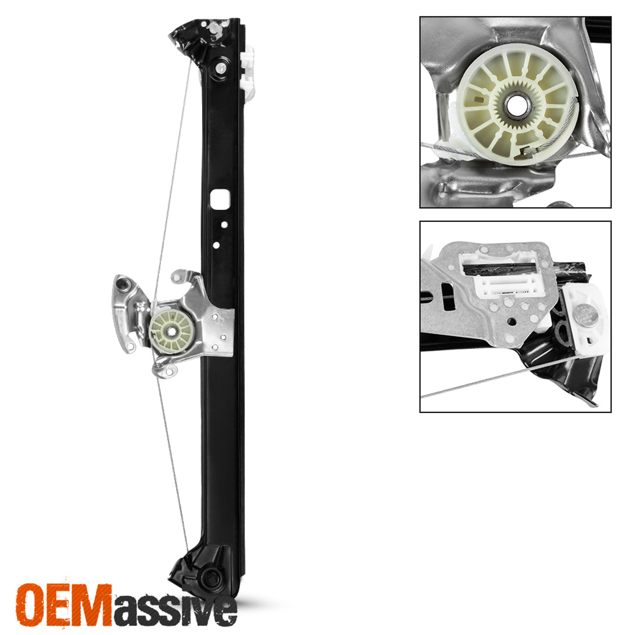 FOR 00-06 BMW X5 E53  Rear Left  Power Window Regulator W// Motor 51357125059