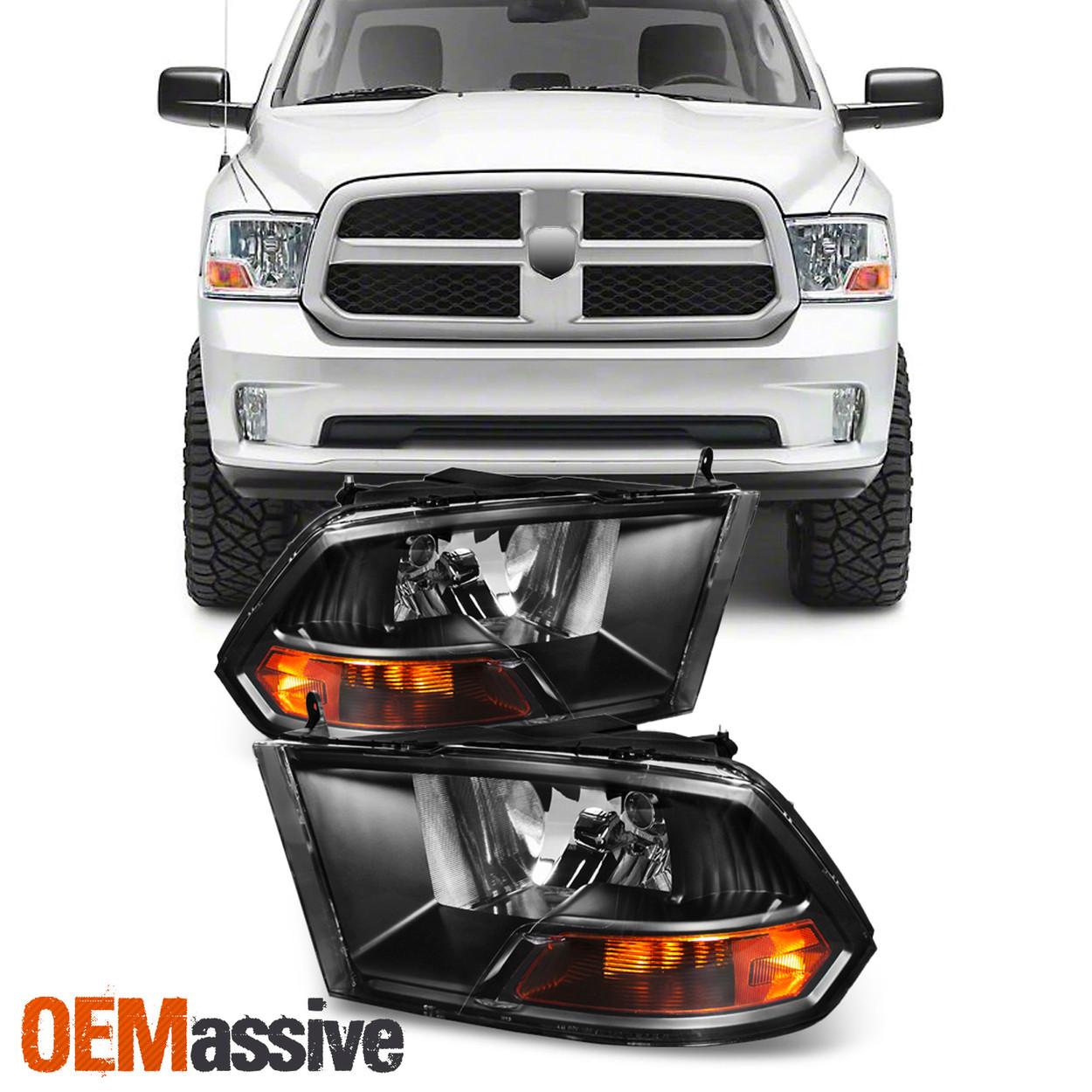Clear Lens 2009-2018 Dodge Ram 1500 2500 3500 Tail Light Brake Lamps Led Pair US