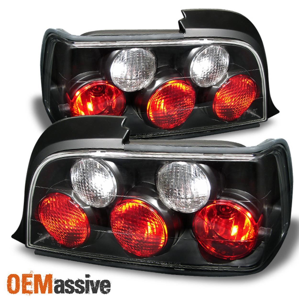 Fits 92 98 Bmw E36 3 Series 2dr Coupe Jdm Black Tail Brake Light Lamp Left Right Oemassive