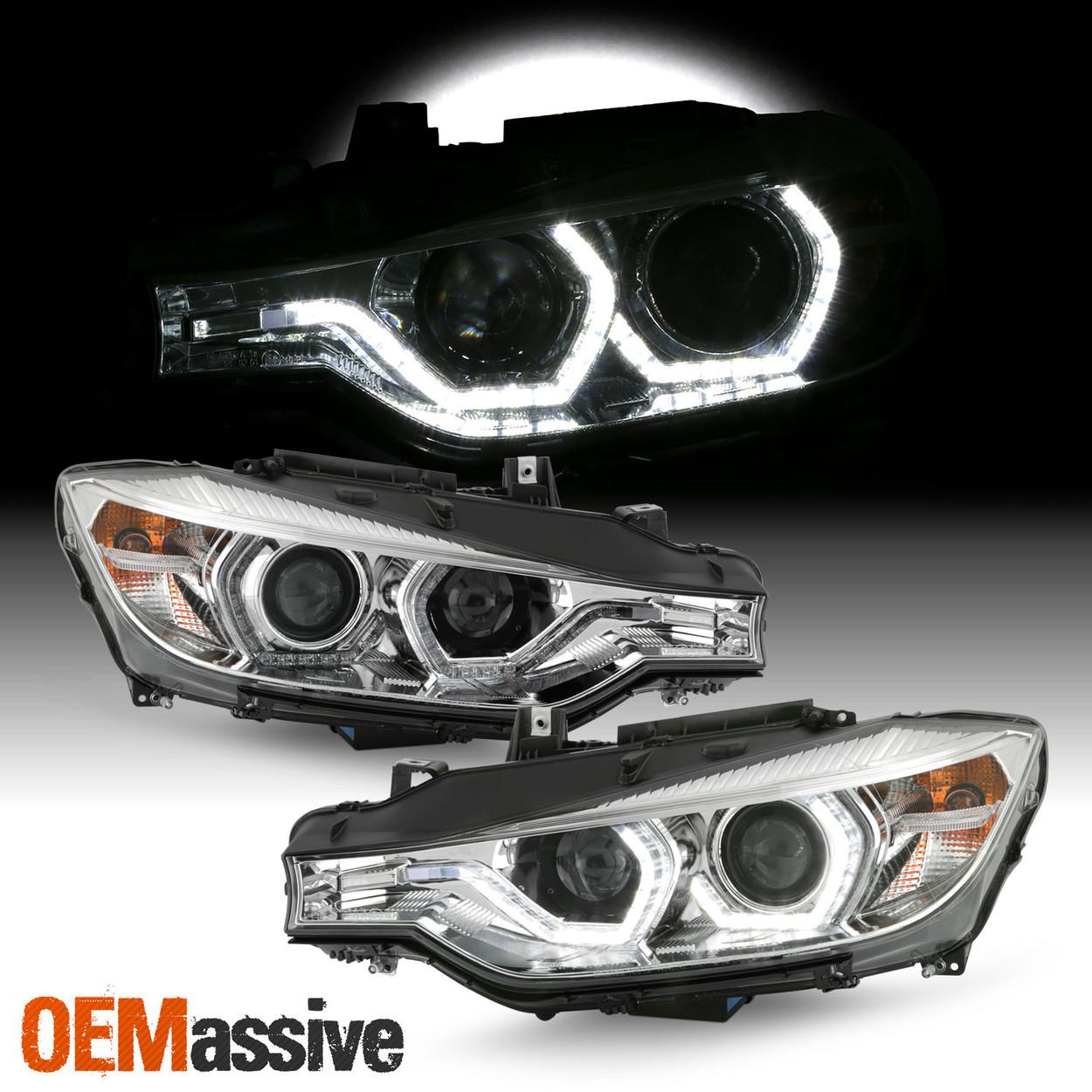 For 12 15 Bmw 320i 325i 328d 328i 335i Hid W Afs Led Projector Chrome Headlights Oemassive