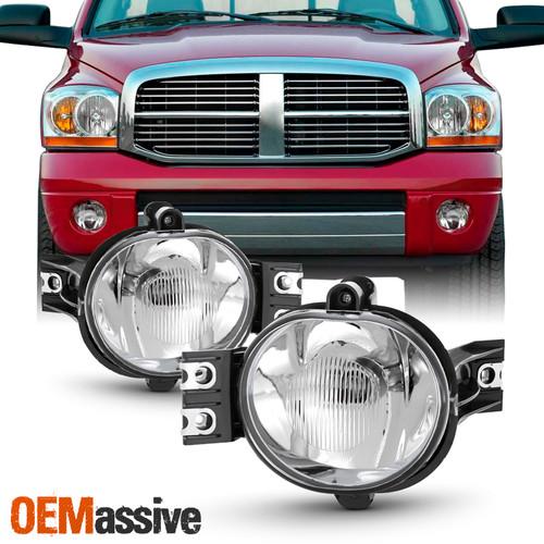 cciyu Fit for 2003 2004 2005 2006 2007 2008 2009 For Dodge Ram 1500//2500//3500 Lower Bumper LED Fog Light Pod Mount Bracket.
