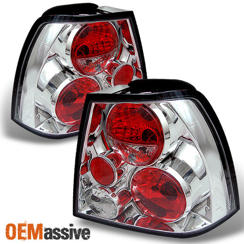NEW 99-05 Volkswagen Jetta MK4 GLI GLS TDI Black Tail Brake Light Lamp LH+RH