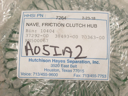 """Hutchison Hayes RN500067, Nave Friction Clutch Hub, 2-7/16""""ID"""