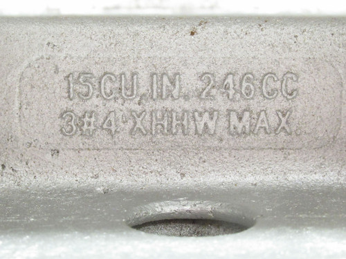 Crouse-Hinds T100M-CG, Tee Conduit Outlet Body, Form: 35, 1NPT