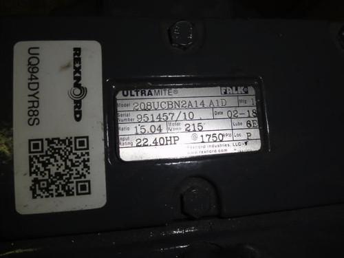 Rexnord 2Q8UCBN2A14.A1D, Gearbox, 15.04 Ratio, 22.40HP, 1750RPM