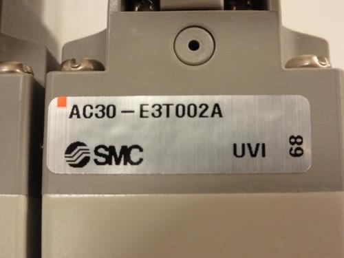 SMC AC30-E3T002A, Pressure Regulator Assembly, 24V, 150PSI-a
