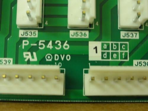 Ishida P-5436, PC Panel Board, 16 Terminal Mounts