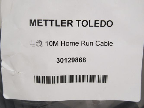 Mettler-Toledo 30129868, Home Run Cable Assembly, 10m Long