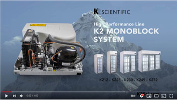 K2 Monoblock System - Removable Medical Refrigerator and Freezer Cooling System