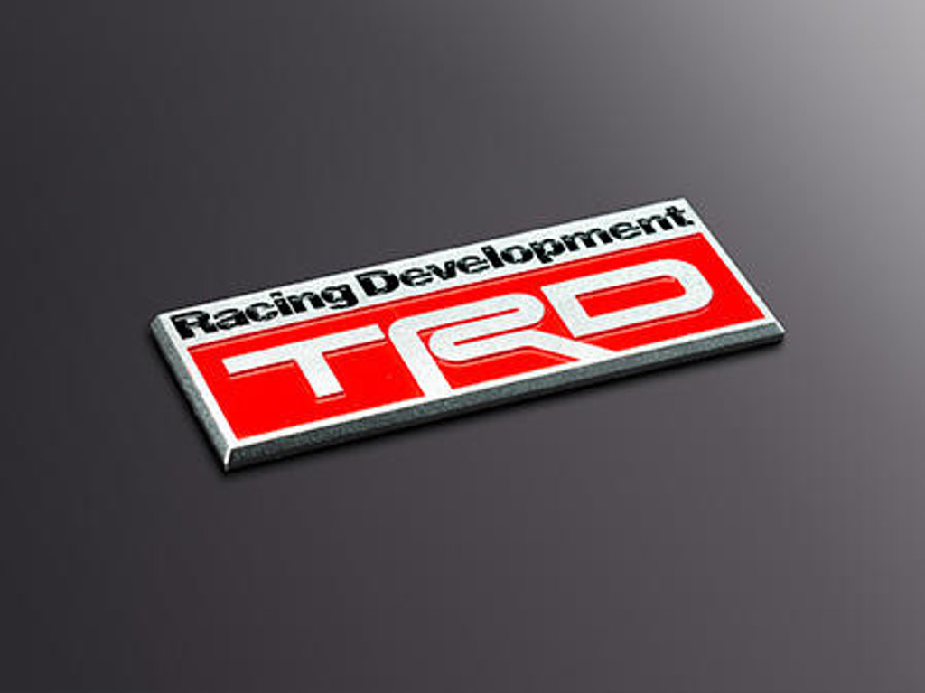 TRD Coloured Emblem - Part no. TOMS01000014