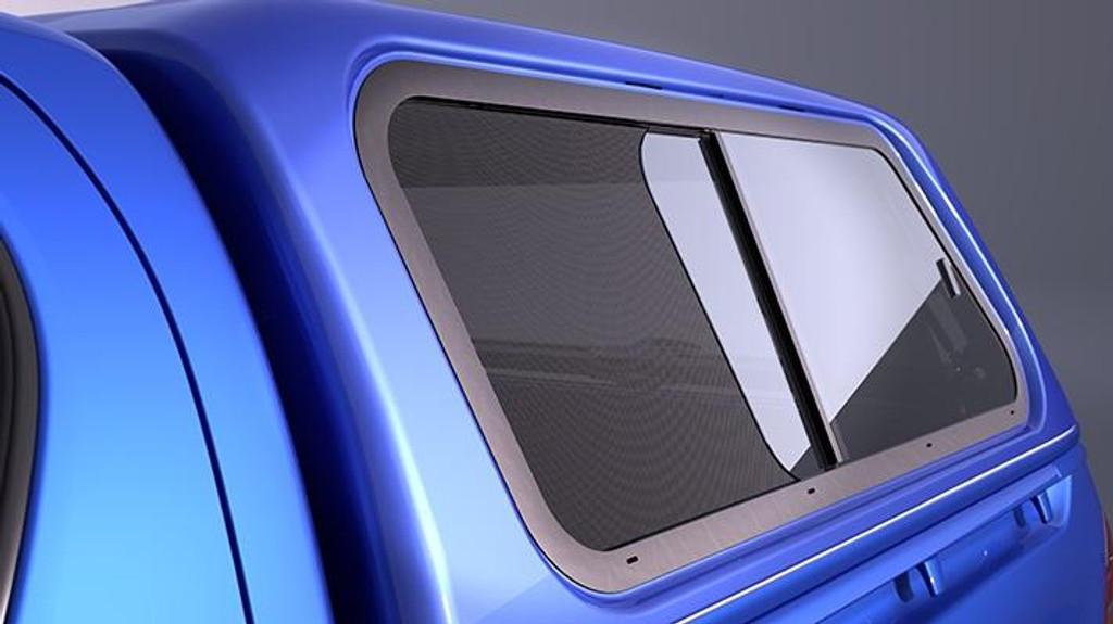 Canopy Flymesh - Side Slide Window Left Hand Side - Part no. TOPZQ7089J20