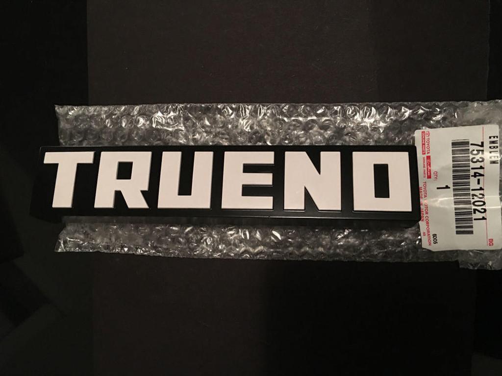 Sprinter Trueno AE86 Kouki Front Grille Emblem - Part no. TO7531412021